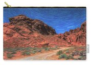 Lone Rock Road Paint  Carry-all Pouch