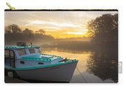 Lone Shark At Dawn Carry-all Pouch