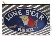 Lone Star Beer Carry-all Pouch