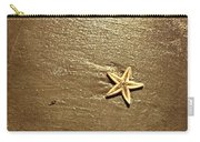 Lone Starfish On The Beach Carry-all Pouch