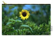 Lone Sunflower  Carry-all Pouch