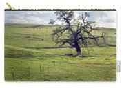 Lone Tree And Cows Carry-all Pouch