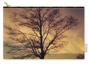 Lone Tree At Sunrise Carry-all Pouch
