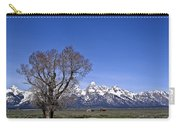 Lone Tree At Tetons Carry-all Pouch