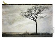 Lone Tree By The Lake Carry-all Pouch by Mary Lee Dereske