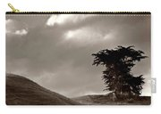 Lone Tree On A New Zealand Hillside Carry-all Pouch
