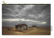 Lonely Beach Shacks Carry-all Pouch by Evelina Kremsdorf