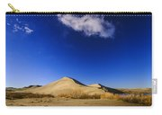 Lonely Cloud Over Sand Dunes At Bruneau Dunes State Park Idaho Usa Carry-all Pouch