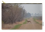 Lonely Deer Crossing Carry-all Pouch