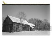 Lonely Grey Barn Carry-all Pouch