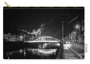 Lonely Night Bw Carry-all Pouch