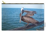 Lonely Pelican  Carry-all Pouch
