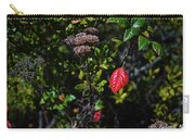 Lonely Red Leaf Carry-all Pouch