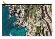 Long And Twisted Walk To The Shore - Azure Magic Of Capri Carry-all Pouch