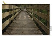 Long Boardwalk Through The Wetlands Carry-all Pouch