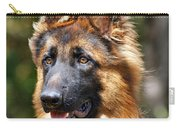Long Coated German Shepherd Dog Carry-all Pouch