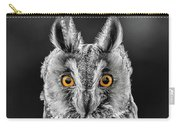 Long Eared Owl 2 Carry-all Pouch