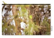 Long-eared Owl Asio Otus In A Tree Carry-all Pouch
