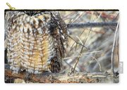 Long Eared Owl Resting Carry-all Pouch