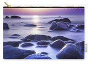Long Exposure Sea And Rocks In Estonia Baltic Sea Carry-all Pouch