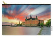 Long Exposure Stockholm Sunset Carry-all Pouch
