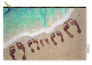 Long Family Beach Feet Carry-all Pouch