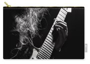 Long Hair Man Playing Guitar Carry-all Pouch