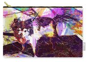 Long Haired Chihuahua Dog Pet  Carry-all Pouch