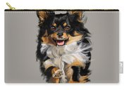 Long Haired Chihuahua  Carry-all Pouch