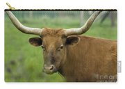 Long Horn Cow Carry-all Pouch