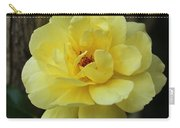 Single Yellow Rose  Carry-all Pouch