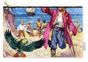 Long John Silver And His Parrot Carry-all Pouch