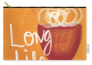 Long Life Noodle Bowl Carry-all Pouch by Linda Woods