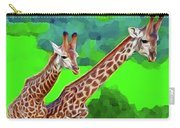 Long Necked Giraffes 3 Carry-all Pouch