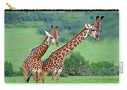 Long Necks Together Carry-all Pouch