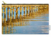 Long Wooden Pier Reflections Carry-all Pouch
