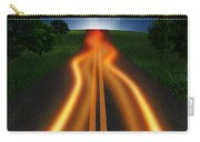 Long Road In Twilight Carry-all Pouch