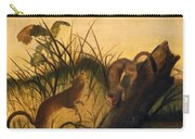 Long - Tailed Weasel Carry-all Pouch