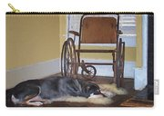 Long Wait - Dog - Wheelchair Carry-all Pouch