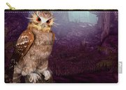 Long Whisker Owl Carry-all Pouch