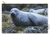 Long Whiskers On A Harbor Seal Carry-all Pouch
