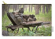 Long Winter Coming - Vintage Wheelbarrow - Casper Wyoming Carry-all Pouch