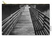 Long Wooden Bridge Carry-all Pouch by Kelly Hazel