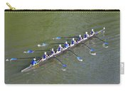 Longboat - Rowing On The Schuylkill River Carry-all Pouch