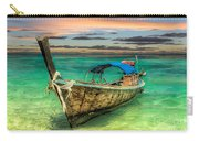 Longboat Sunset Carry-all Pouch