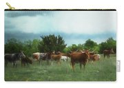 Longhorn Herd Carry-all Pouch