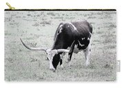 Longhorn Sketch Carry-all Pouch