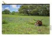 Longhorn Spring Carry-all Pouch