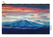 Longs Peak At Sunset Carry-all Pouch