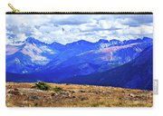 Longs Peak Rocky Mountain National Park Carry-all Pouch